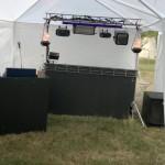 Installation du matériel de sonorisation
