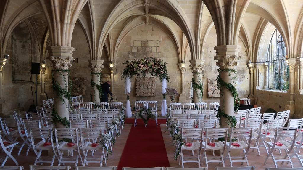 Cérémonie laïque Abbaye de Fondouce