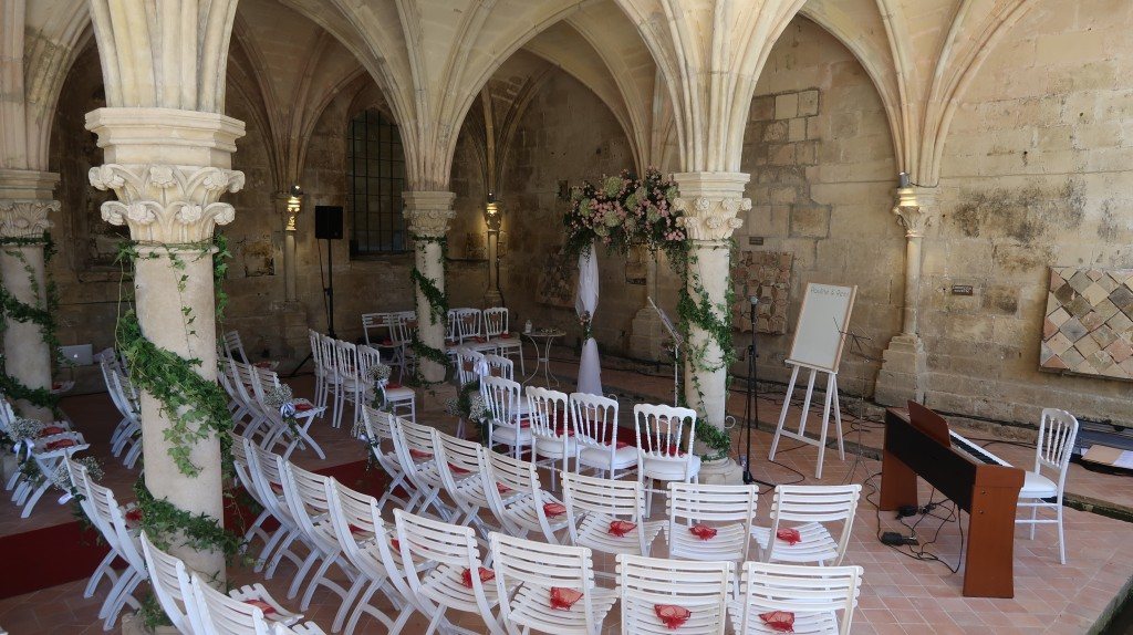 Salle Capitulaire Abbaye de Fontdouce